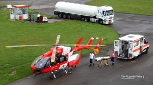 "Helikopter ""REGA 1414"" aus Basel"